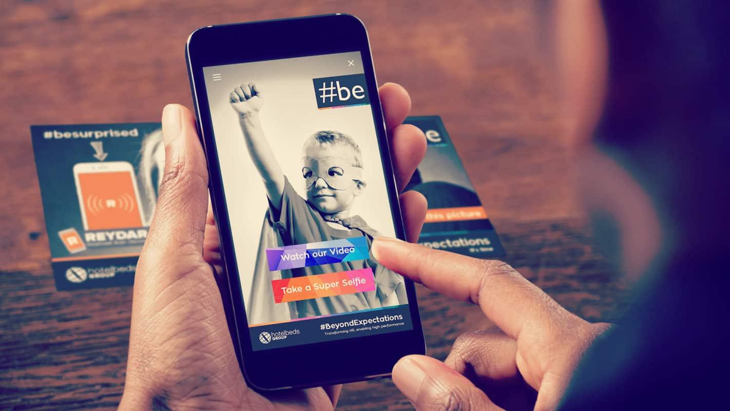 Hotelbeds Super Selfie AR Campaign on Reydar 2