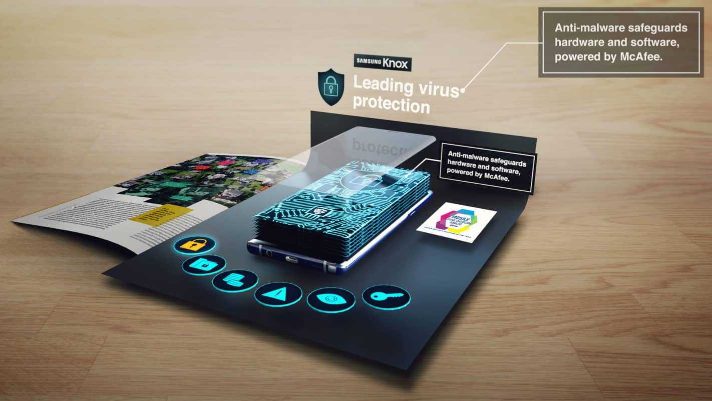 Samsung AR Product Experience on Reydar